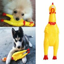 Yellow Rubber Pet Supplies Screaming Chicken Pet Squeaky Toy Pet Dog Chew Toy