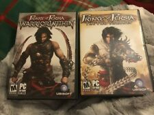 Set Of 2~ Prince Of Persia Pc Rom Games Warrior Within & The Two Thrones Vg Con.