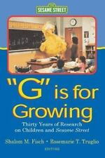 "Routledge Communication: ""G"" Is for Growing : Thirty Years of Research on Childr"