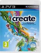 Create (Move) PS3 Perfetta 1a Stampa Italiana con manuale