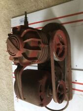 Vintage SPEEDY Air Compressor Complete WORKS Rat Rod Special