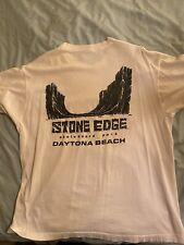 vintage Stone Edge skateboard park shirt. Daytona Beach