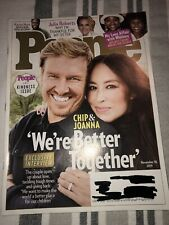 People Magazine Weekly November 18, 2019 Chip & Joanna,  We're Better Together