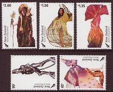 NEW ZEALAND 2004 WORLD OF WEARABLE ART SET OF 5 UNMOUNTED MINT