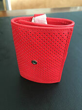 Portachiavi Originale Smart Rosso - Red Leather Smart Collection Keyring