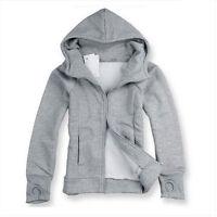 Men's Winter Hoodie Warm Hooded Sweatshirt Coat Jacket Sweater Slim Tops Outwear