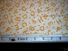 Moda Fabrics  Lollipop by Sandy Gervais Alphabet Toss on Cream 17554-26