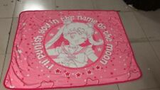 "Sailor Moon pink coral fleece throw blanket blankets quilt warm 59X47"" new"