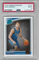 🏀🔥2018-19 Donruss #177 LUKA DONCIC RC Rookie MINT PSA 9🏀🔥