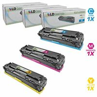 LD Remanufactured Replacements for HP 131A Toners: Cyan, Magenta, Yellow 3-Pack