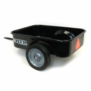 Black Steel Pedal Tractor Trailer with Decals by ERTL 12994