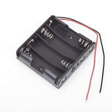 Battery Box Slot Holder Case for 4 Packs Standard AA 2A Batteries Stack 6V GT GT