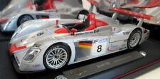 Voitures miniatures de tourisme gris pour Audi