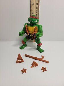 Vintage TMNT Teenage Mutant Ninja Turtles 1988 Raphael Almost Complete Soft Head