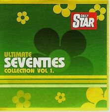 VARIOUS ARTISTS ‎– ULTIMATE SEVENTIES COLLECTION VOL 1, Daily Star CD