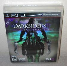 DARKSIDERS II Limted Edition SEALED NEW PlayStation 3 PS3 Hack & Slash Action