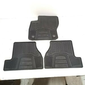 2016-2018 FORD FOCUS RS BLACK RUBBER ALL-WEATHER SEASON FLOOR CARPET MAT SET OEM