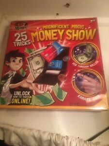 Ideal Magnificent Magic Money Show 25 Tricks Set NEW Sealed