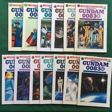 GUNDAM 0083 MOBILE SUIT Lotto 13 Fumetti SEQUENZA SERIE CPL 1/13 Granata Manga