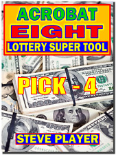 Steve Player's Acrobat Eight Pick- 4 Lottery Systems