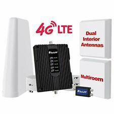 SolidRf Dual Interior Antennas CellPhone-Boster-HomeOffi ce-8000 sqft-Us Carriers