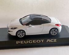 Peugeot RCZ weiss-Metallic, 1:43, NOREV