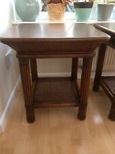 Side, coffee tables x 2, Bamboo cane, Rattan Style