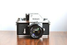 NIKON F1  Professional 35mm SLR film camera  w/ Nikkor 50mm f/1.4 lens   - Japan