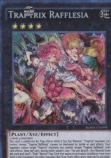 Yu Gi Oh 1st EditionTraptrix Rafflesia BOSH-EN099 NM-MNT IN HAND