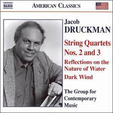 Jacob Druckman: String Quartets Nos. 2 &3, New Music