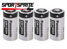 4PCS Panasonic CR123A 3V 1400mAh Lithium Battery Cell For Flashlight Camera Lamp