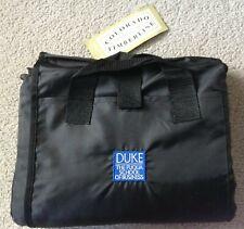 New Duke Fuqua Fleece Picnic Blanket Throw Yoga Mat Rug Beach Black Waterproof
