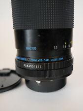 Carl Zeiss 80-200 F4.5-5.6 MC Macro Jenazoom Lens. With original case.