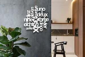 Wall Clock Australian Made Design Style #14