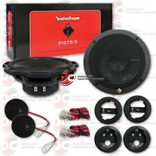 "NEW ROCKFORD FOSGATE P1675-S 6-3/4"" 6.75-INCH 2-WAY CAR AUDIO COMPONENT SPEAKERS"