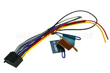 KENWOOD KDC-252U KDC252U KDC-255U KDC255U KMR-330 KMR330 GENUINE WIRE HARNESS