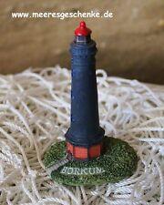 Deko Leuchtturm Borkum ca. 8 x Ø: 3 cm, aus Polyresin