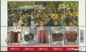Belgium block117 (complete issue) unmounted mint / never hinged 2007 Music that