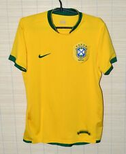 BRAZIL 2006/2008 HOME FOOTBALL SHIRT JERSEY NIKE SIZE S ADULT