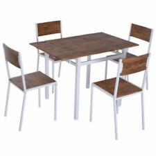 Ensembles de table et chaises de maison en fer forgé