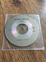 ❣RARE❣️UK 1-TRACK PROMO CD•Somebody To Love~George Michael & Queen (Wham!)