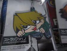 YUGIOH charm phone strap keychain collectible joey bakura blue eyes