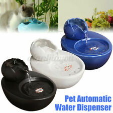Pet Automatic Circulation Water Fountain Ceramic Drinking Snack For Cat Dog Feed