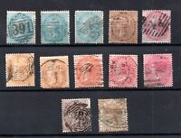 India QV used collection Cat Val £100+ WS18875