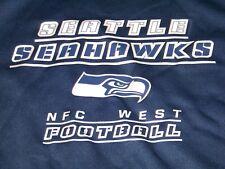 NWT Seatle Seahawks Hoodie Sweatshirt Men'sXL ~ Navy Blue ~ NFC Football ~