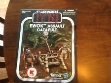 Star Wars 2013 TVC Vintage Collection Ewok Assault Catapult MISB Kmart Exclusive