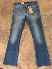 Levi's Girls 7-16 Taylor Thick Stitch Bootcut Blue Rapids Jeans Size 14 Reg  NWT