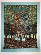 The Black Keys Marq Spusta Poster Dover Firefly Signed Numbered Silkscreen Rare