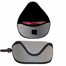 Gafas de sol Gafas Estuche Acolchado Gris/Bolsa con Clip Ideal para vacaciones, Regalo
