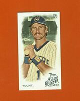 2019 Topps Allen & Ginter Mini Robin Yount SP #352 Milwaukee Brewers